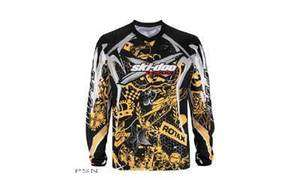 SKI DOO MENS X Team JERSEY SHIRT Yellow/Black/ White 453526 2X