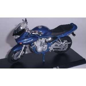 SUZUKI BANDIT S BLAU BLUE 1/18 MAISTO MODELLMOTORRAD MODELL MOTORRAD