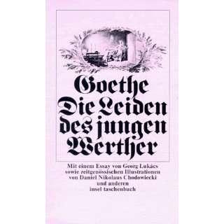 Die Leiden des jungen Werther (insel taschenbuch)  Johann