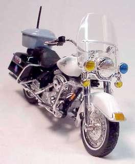 Harley Davidson Arkansas State Police Bike  118 Scale