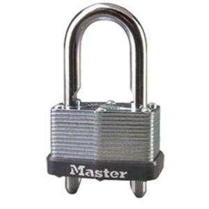 Master Lock 1 3/4 Laminated Steel Padlock with Removable Adjustable