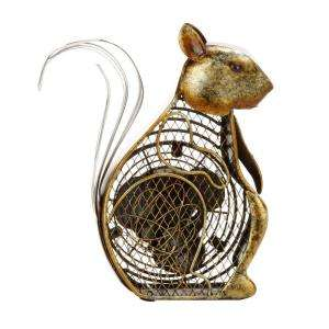 Deco Breeze 7 In. Figurine Fan  Squirrel DBF0225