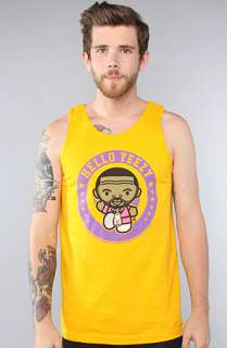 Rich Scampi The Hello Yeezy Tank in Yellow  Karmaloop   Global