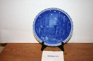 Retsch 1978 Christmas Plate Montgomery Ward Ltd Ed NEW