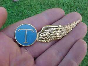 WWII Dutch East Indies Air Force Telegrapher Half Wing
