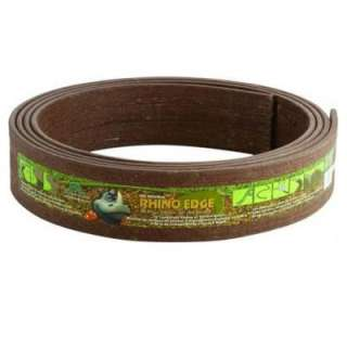Rhino Edge 3 1/2 in. x 16 ft. Coil Chestnut Landscape Lawn Edging with