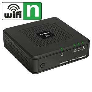 Linksys WGA600N Dual Band Wireless N Gaming Bridge   300Mbps, 802.11a