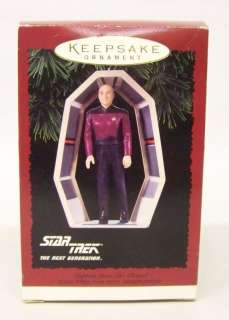 Hallmark Star Trek  Captain Jean Luc Picard  Ornament
