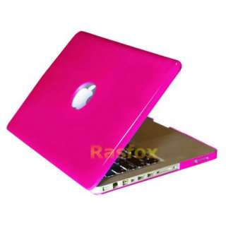 Glossy HotPink Hard Shell Cover Case 13 MacBook Pro