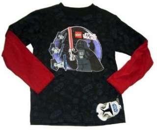 LEGO STAR WARS langarm T SHIRT / Darth Vader 98 104