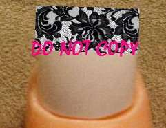 15 WATER SLIDE NAIL ART DECALS FANCY FRENCH TIP