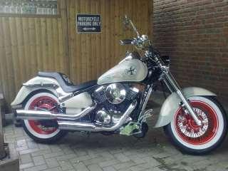 Tank Aufkleber Für Harley Suzuki Chopper R. u. L.