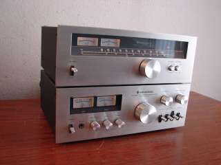 VINTAGE KENWOOD KA 5700 INTEGRATED AMP AMPLIFIER & KT 5500 TUNER NICE