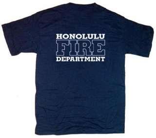 Honolulu Fire Department Hawaii Firefighter T shirt 4XL