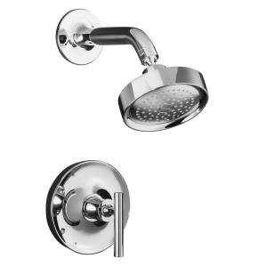 Purist Pressure Balancing Shower Faucet Trim Only in Polished Chrome