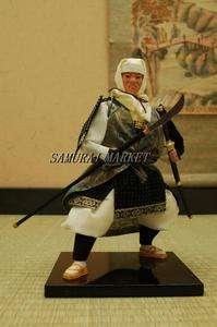 Authentic Japanese Samurai Figure Dolls: Saito no Musashibo Benkei