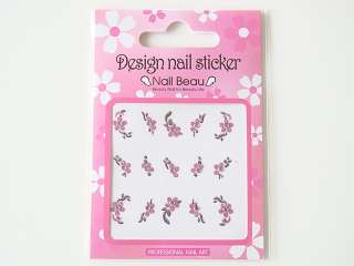 New Design Wraps Patch Nail Art Stickers, made in Korea