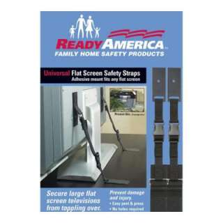 Ready America Universal Flat Screen Safety Strap 4521 at The Home