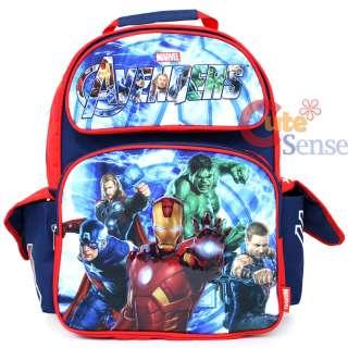 Marvel Avengers School Backpack 16 Large Iron Man Captain America Bag
