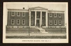 1941 Administration Building Williams Fort Dix NJ PC