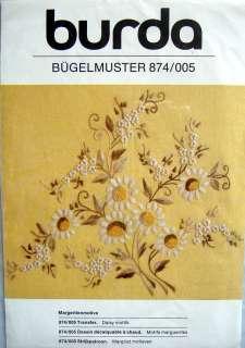 Burda Needlework Cutwork & Embroidery Fabric Transfers Pattern   You