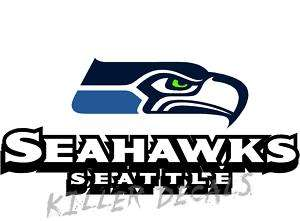 12 SEATTLE SEAHAWKS WINDOW/WALL DECAL LIK FAT SS102