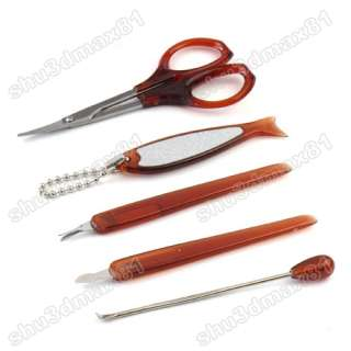 10in1 Nail Care Clipper Pedicure Manicure Set Kit Case