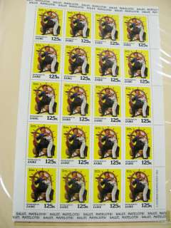 US Stamps Norman Rockwell Mint Miniature Sheet Collection