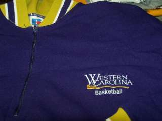 WESTERN CAROLINA Basketball Team Issued Warmup Suit VTG