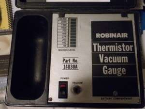 ROBIN AIR THERMISTOR VACUUM GAUGE 14830A