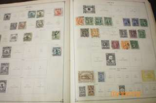 WW Scott Scott Junior Stamp Album Copyrite 1935 Over 4,000 old stamps