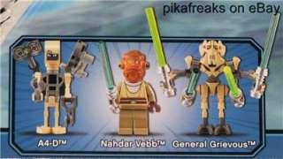 8095 Lego Star Wars GRIEVOUS STARFIGHTER Play Set MISB 673419129107