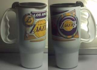 LOS ANGELES LAKERS   ROADSTER TRAVEL COFFEE MUG OFFICIAL LOGO NBA 16
