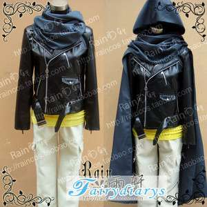 Future City NO.6 Nezumi Whole Set Black Cosplay Costume