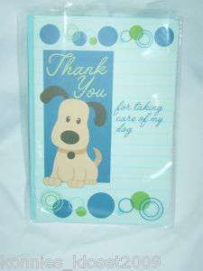 Thank You Card   Dog Care with Envelope (NEW)