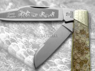 HEN & ROOSTER AND Rattlesnake Stockman Pocket Knives