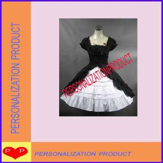 Sweet Gothic LolitaStunning Lace Black Dress Costume