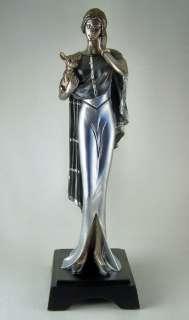 Ellegant ROARING 20s ART DECO LADY Figurine New