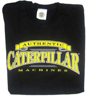 Caterpillar Mens Black CAT Logo T Shirt NEW sz M Short Sleeve Shirt