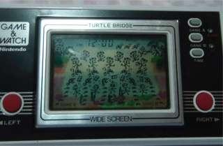 NINTENDO GAME & WATCH WIDE SCREEN SERIES **TURTLE BRIDGE #825** TL 28