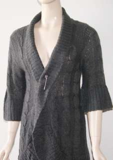 ALLISON BRITTNEY CARDIGAN SWEATER TOP SZ LARGE NEW NWT