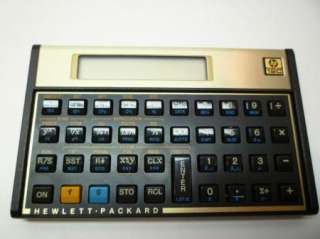 HP 12C Original Financial Calculator 88698000120