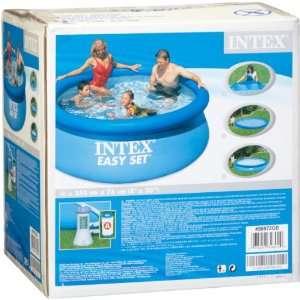 Intex 56972GS   Pool Set Easy Set mit Pumpe 244 x 76 cm