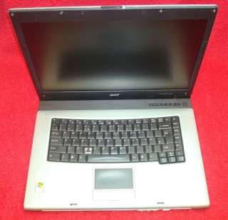 Acer Travelmate 4500 Laptop   Working / No Hard Drive   Spares/Repair
