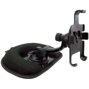 Arkon Deluxe Friction Dash Mount for iPhone   Black Cell