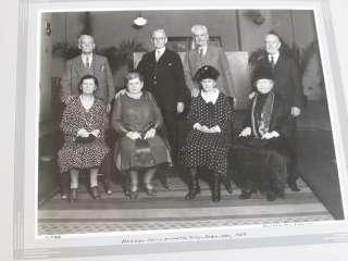 Antique Photo New Jersey History Atlantic City,Haddon Hall 1929 Group
