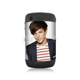 ONE DIRECTION BATTERY COVER BACK CASE FOR BLACKBERRY 8520 9300