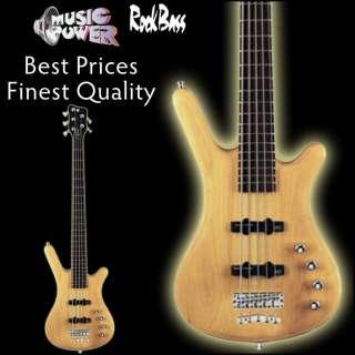 Warwick Rockbass Corvette Basic 5 String Bass Guitar Active Natural