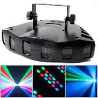 Chauvet Derby X 6 Lens DMX 512 LED RGB DJ Equipment Disco Lighting