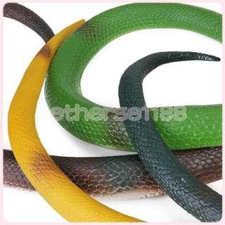 37.4 Rubber Snake King Cobra Fun Toy Reptile Animal Kids Party Bag